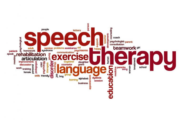 Box Hill Speech Pathology Clinic Adult Stuttering Word Cloud Speech Therapy