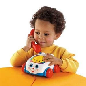 Box Hill Speech Pathology Clinic - Communication Choices Girl Playing Toy Telephone