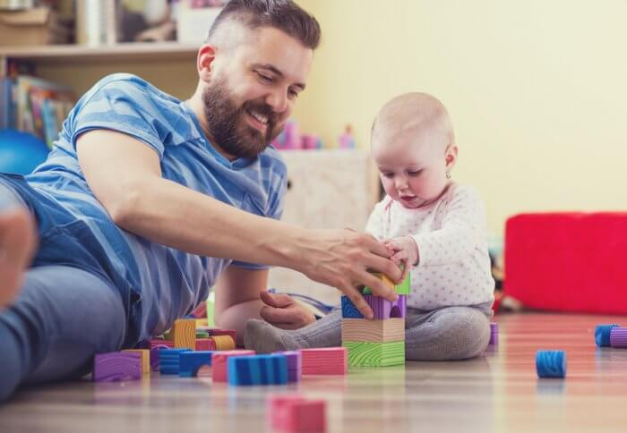 Box Hill Speech Pathology Clinic Speech Therapy Dad Playing with his Son