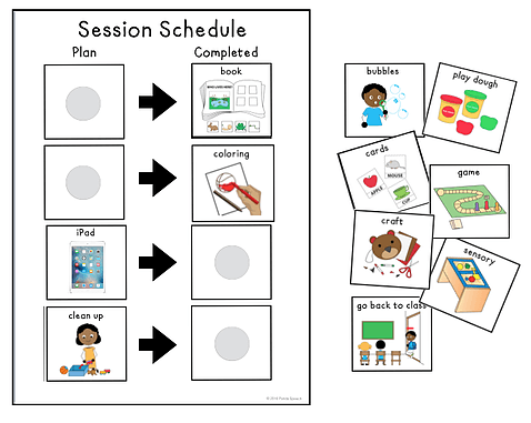 Box Hill Speech Pathology Clinic Speech Therapy Session Schedule Image
