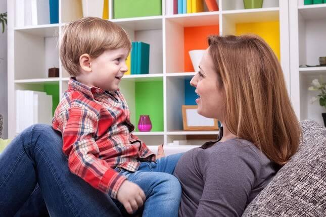 Box Hill Speech Pathology Clinic Spotlight Stuttering Mother and Boy