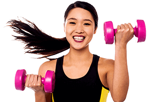 Box Hill Speech Pathology Clinic Voice Lifestyle Girl Doing Fitness Exercises