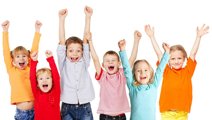 Box Hill Speech Pathology Clinic Voicing Treating Dysphonia Happy Kids Jumping for Joy